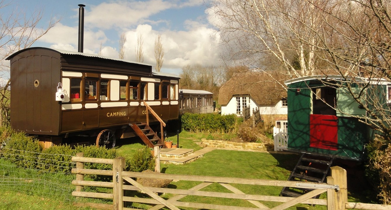 High Cross Camping Coach Converted Railway Carriage For