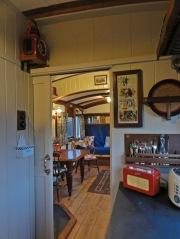 View kitchen to saloon